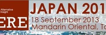 PERE Forum Japan: Tokyo Japan (Sepetermber 18, 2013)