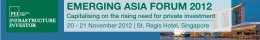 Infrastructure Investor: Emerging Asia Forum 2012 in Singapore