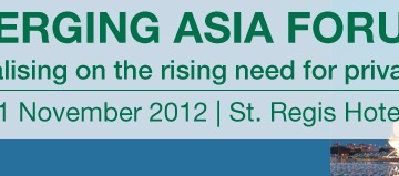 イベントのお知らせ・Infrastructure Investor: Emerging Asia Forum 2012 in Singapore