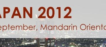 PERE Forum Japan 2012 9月12日・マンダリンオリエンタル東京で開催