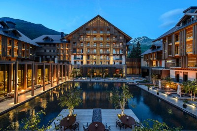Luxury branded residence