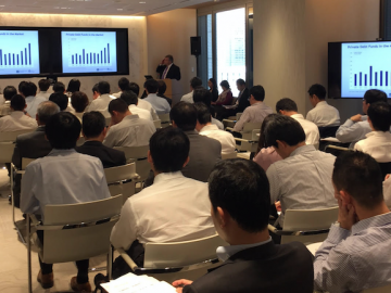 Asterisk's seminar for Japanese institutional investors on US real estate investment
