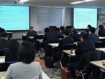 Asterisk's seminar for Japanese institutional investors on UK and EU real estate investment